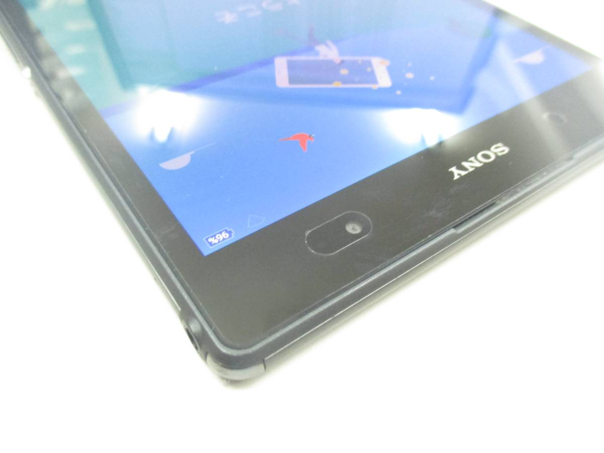 ◆◇SONY Xperia Z3 Tablet Compact Wi-Fiモデル 32GB SGP612JP/B ブラック 中古美品◇◆_画像5
