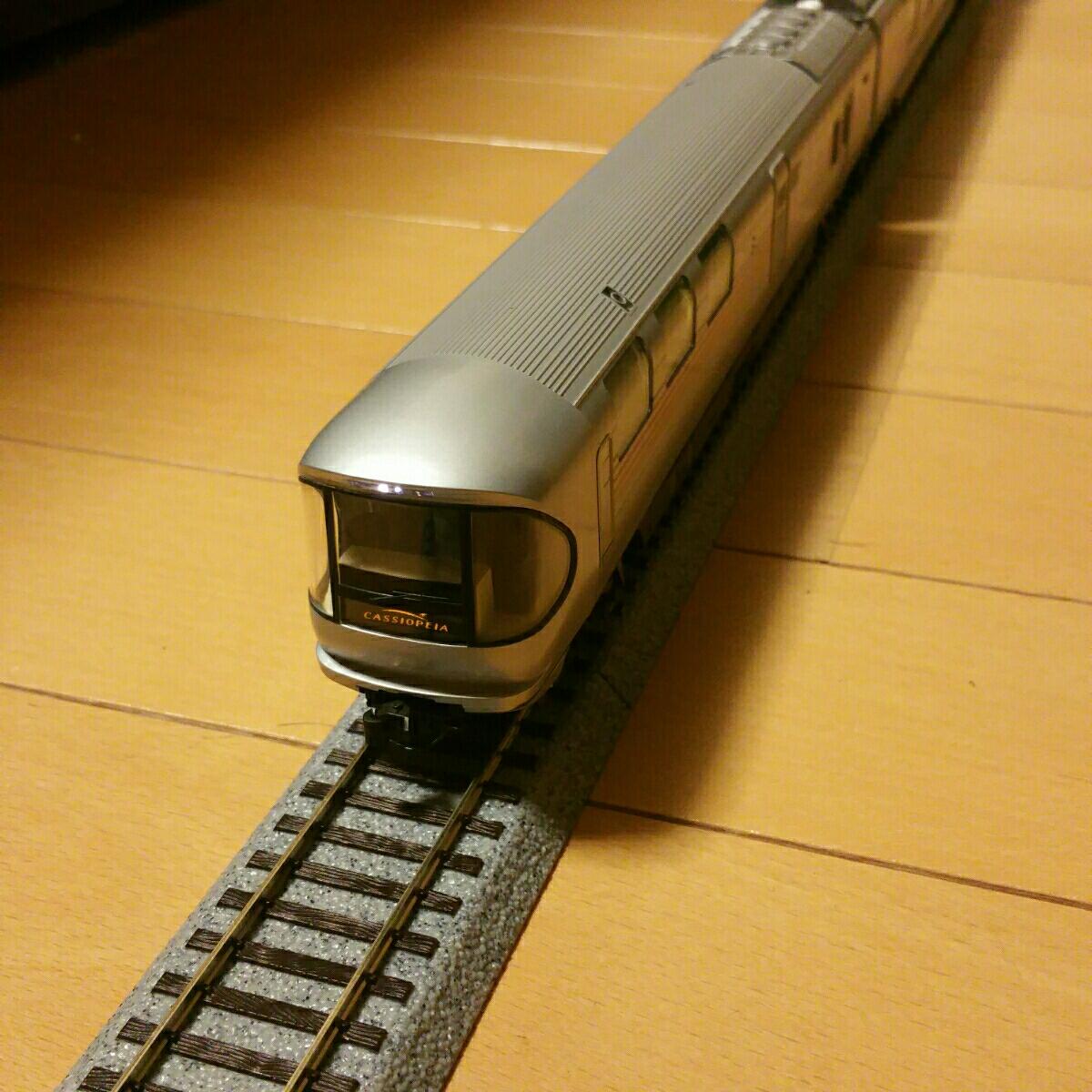 TOMIX HO-088 JR E26系特急寝台客車 カシオペア 基本セット