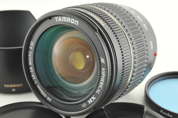 〓極上〓TAMRON タムロン AF 28-200mm F3.8-5.6 XR MACRO A03 ソニー ミノルタ ●7176