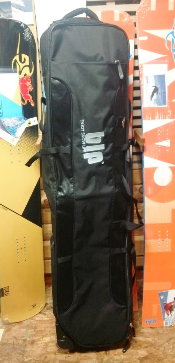 ☆新品・正規品ラス1(M)・30%OFF以下~blp・画期的スキー・縦にも横にも運べる・4ウイール スキー スノーボードケース 160cm☆_画像1