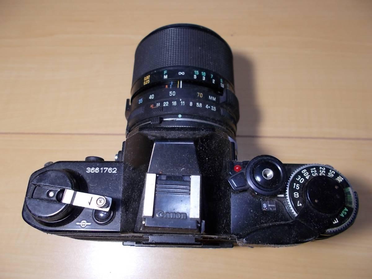 o1712266 ジャンクカメラ Canon / キャノン AE-1_画像3
