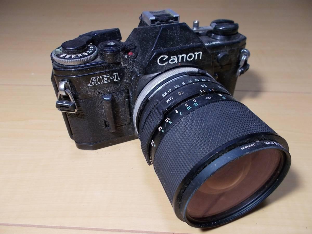 o1712266 ジャンクカメラ Canon / キャノン AE-1