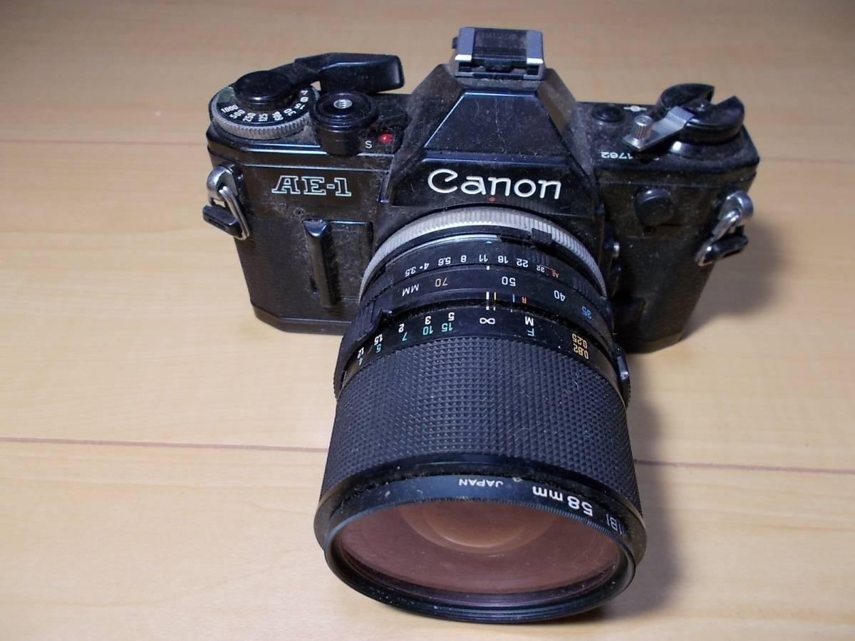 o1712266 ジャンクカメラ Canon / キャノン AE-1_画像4