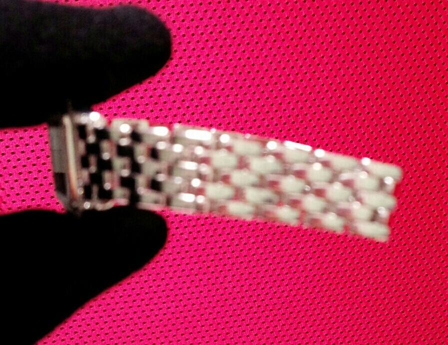【本物】カルティエ Cartier K18WG パンテール 二重ダイヤモンド ベゼル レディース 腕時計 美品 質屋さんにて購入 送料無料_画像7