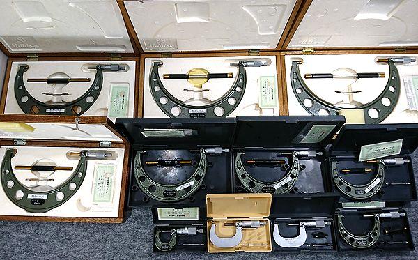 大量セット ミツトヨ 外側マイクロメーター 0~250 25ピッチ M110 M210 OM