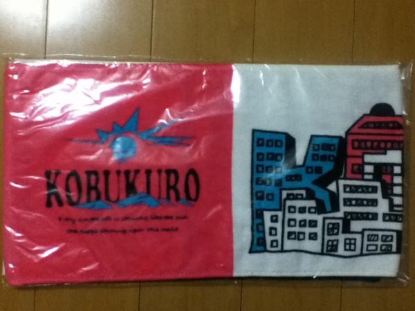 【新品】コブクロ 2011★LIVE TOUR 2011★タオル(ピンク)