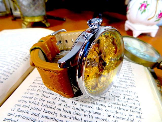"""Engrave!! パテック フィリップの""""彫金 """" アンティーク懐中時計の機械を用いて ヴィンテージ 機械式 手巻き ウォッチ ゴールド_画像3"""