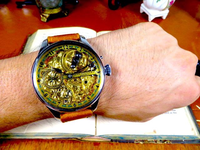 """Engrave!! パテック フィリップの""""彫金 """" アンティーク懐中時計の機械を用いて ヴィンテージ 機械式 手巻き ウォッチ ゴールド_画像7"""