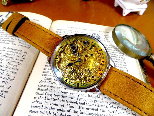 """Engrave!! パテック フィリップの""""彫金 """" アンティーク懐中時計の機械を用いて ヴィンテージ 機械式 手巻き ウォッチ ゴールド"""