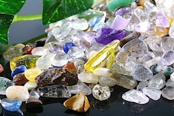 【送料無料】 200g さざれ 小サイズ ミックスジェムストーン 水晶 パワーストーン 天然石 ブレスレット 浄化用 さざれ石 チップ ※3_画像5