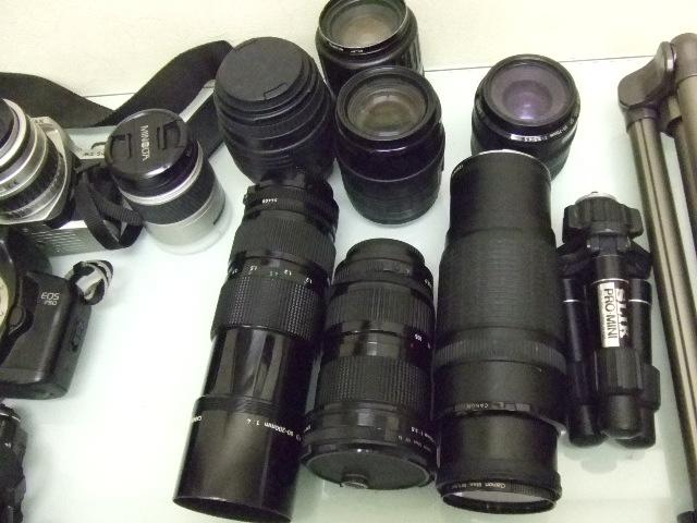 ジャンク★ペンタックス他・・・フィルムカメラ8台+レンズ7個+三脚★ジャンク_画像4