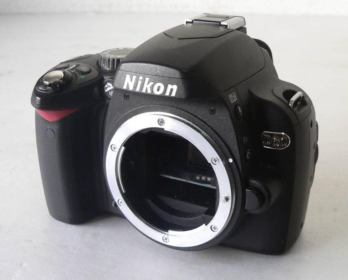 ★ジャンク品/Nikon D60 2081147★