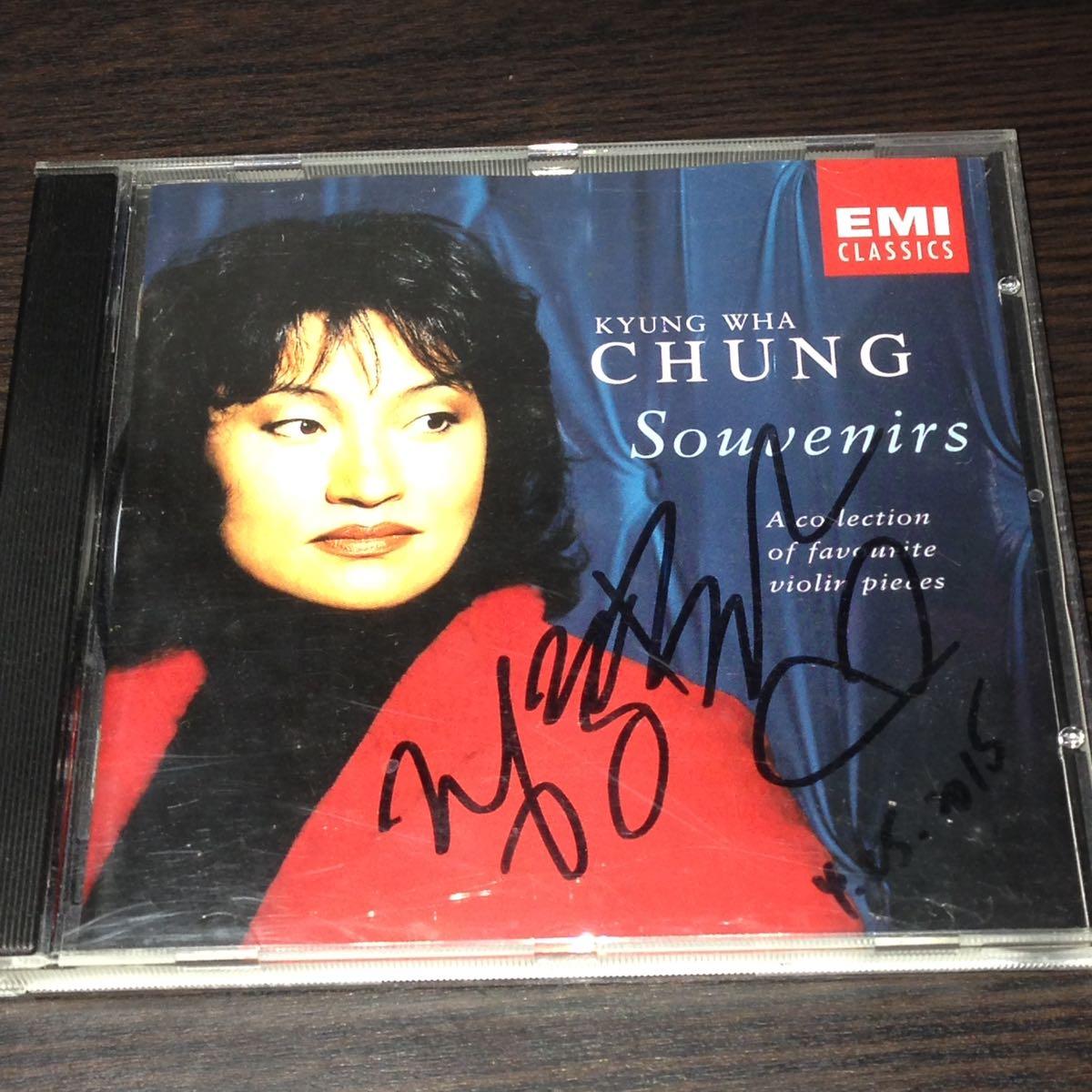 チョン・キョンファ Kyung Wha Chung 直筆サイン入りCD