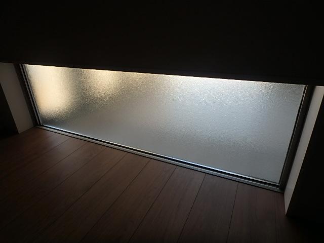 121918 YKKアルミサッシフレミングペアガラス横長FIX窓 佐_画像2
