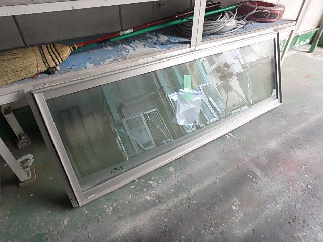 121918 YKKアルミサッシフレミングペアガラス横長FIX窓 佐_画像4