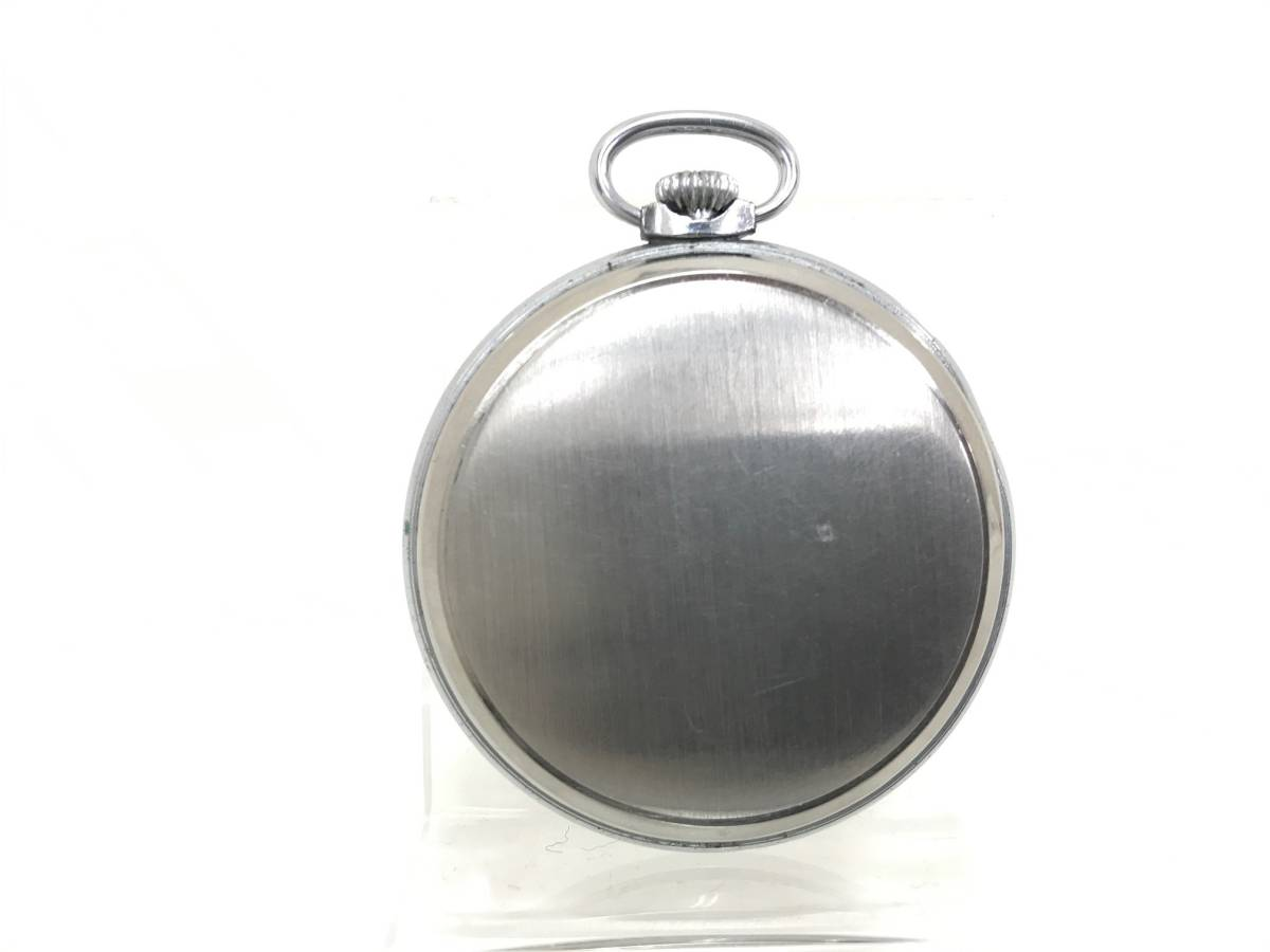 (管理2514) SEIKOSHA/セイコー EXTRA FLAT 手巻 懐中時計 動作品です♪♪_画像4