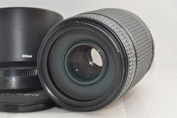 ★新品級★NIKON AF NIKKOR 70-300mm F4-5.6 D ED フード付き #5986