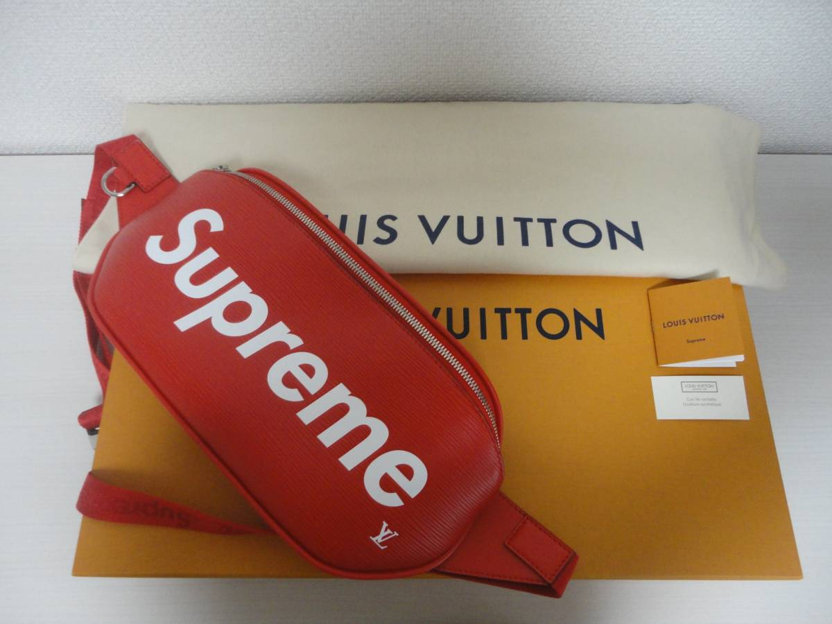 louisvuitton×Supremeルイヴィトンの情報