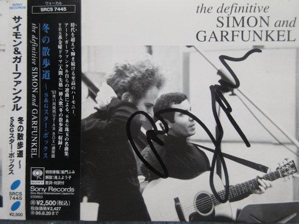◎ART GARFUNKEL/アートガーファンクル 直筆サイン入りCD!