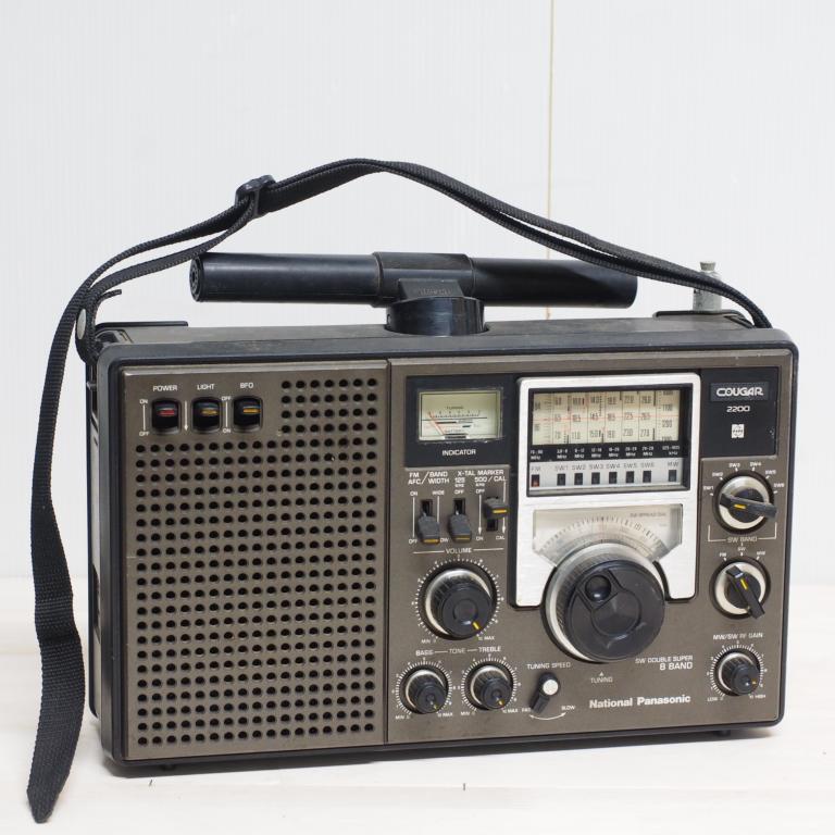 ib) アンティーク 短波ラジオ RF-2200 パナソニック ジャンク