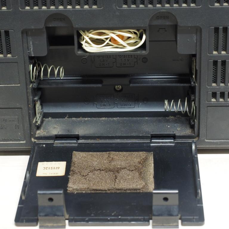 ib) アンティーク 短波ラジオ RF-2200 パナソニック ジャンク_画像6