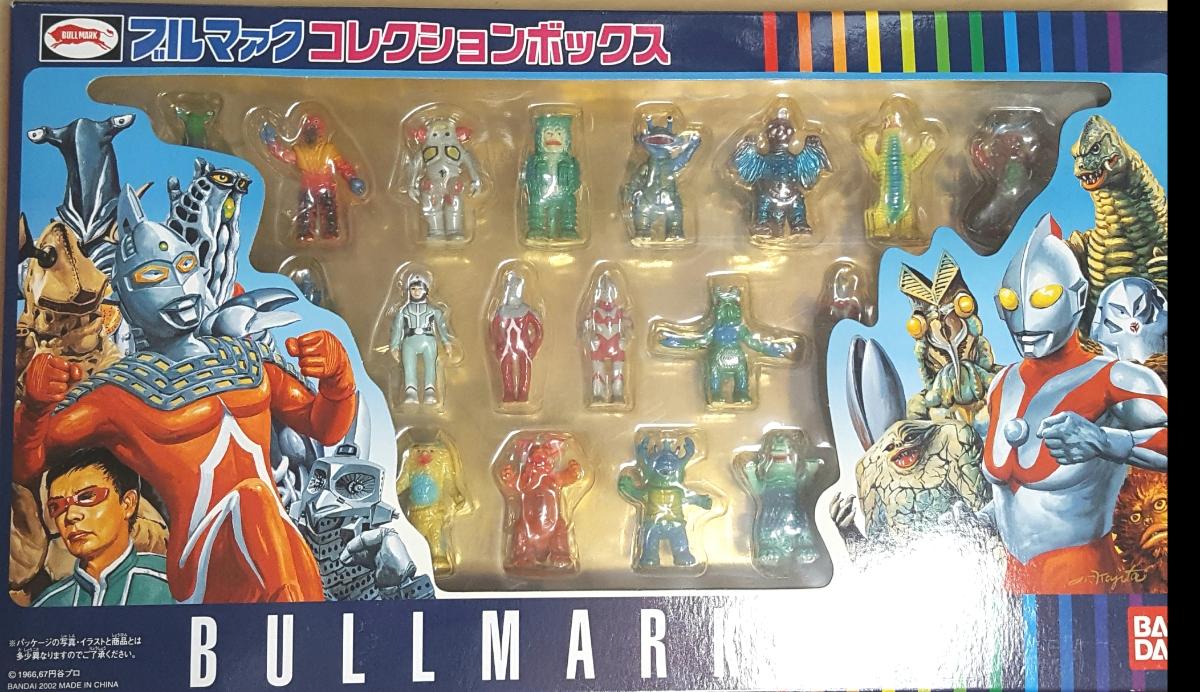 バンダイ 正規品 ブルマァク コレクション ボックス 新品 ブルマーク ウルトラマン 怪獣25体BANDAI BULLMARK Collection BoxソフビUltraman_画像1