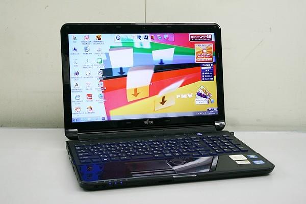 送料無料!富士通/FUJITSU★ノートパソコン FMV LIFEBOOK[AH56/G・FMVA56GB]15.6型/Core i7 2.2G/750G/4G/BD/無線/Windows7