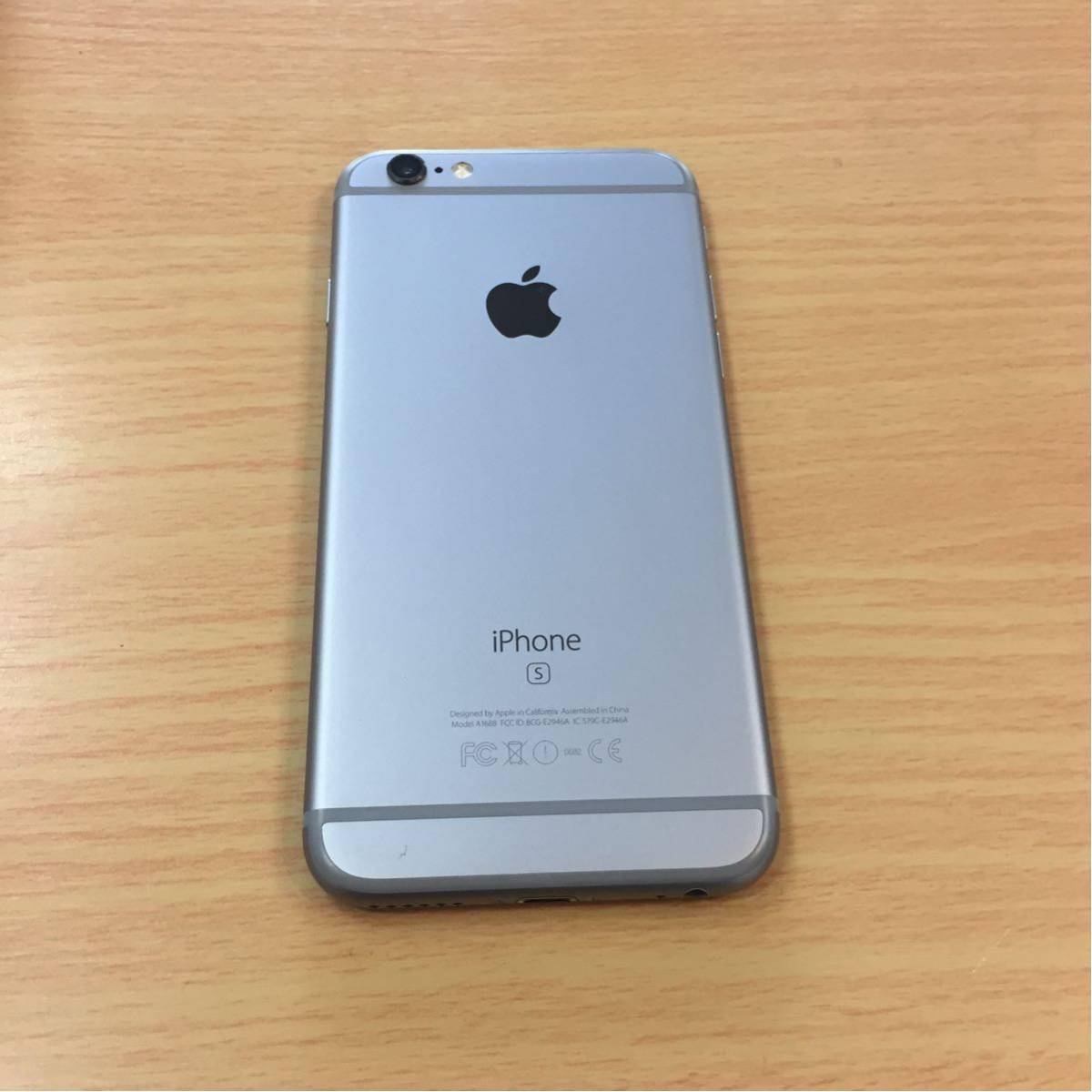 au iPhone6s 128GB グレー 10.3.3 MKQT2J/A 制限○_画像3