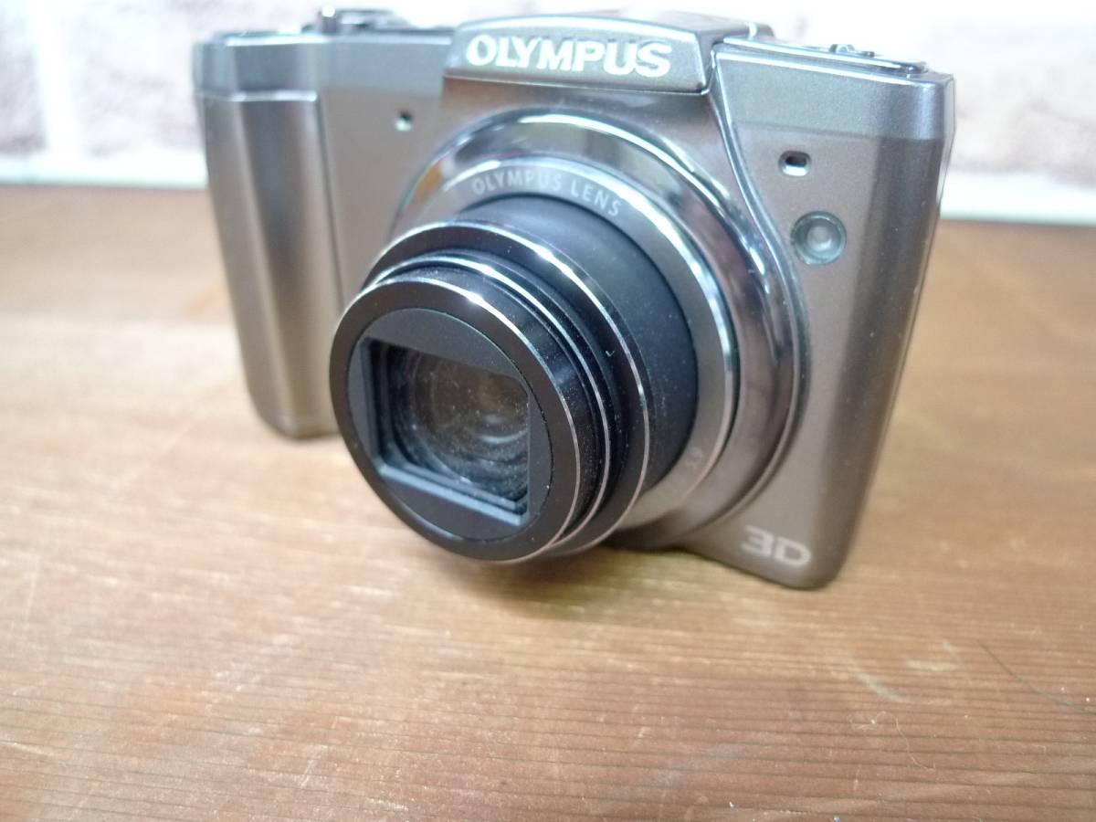 【黒檀堂】OLYMPUSオリンパスデジタルカメラSZ-20 ACアダプター付_画像2