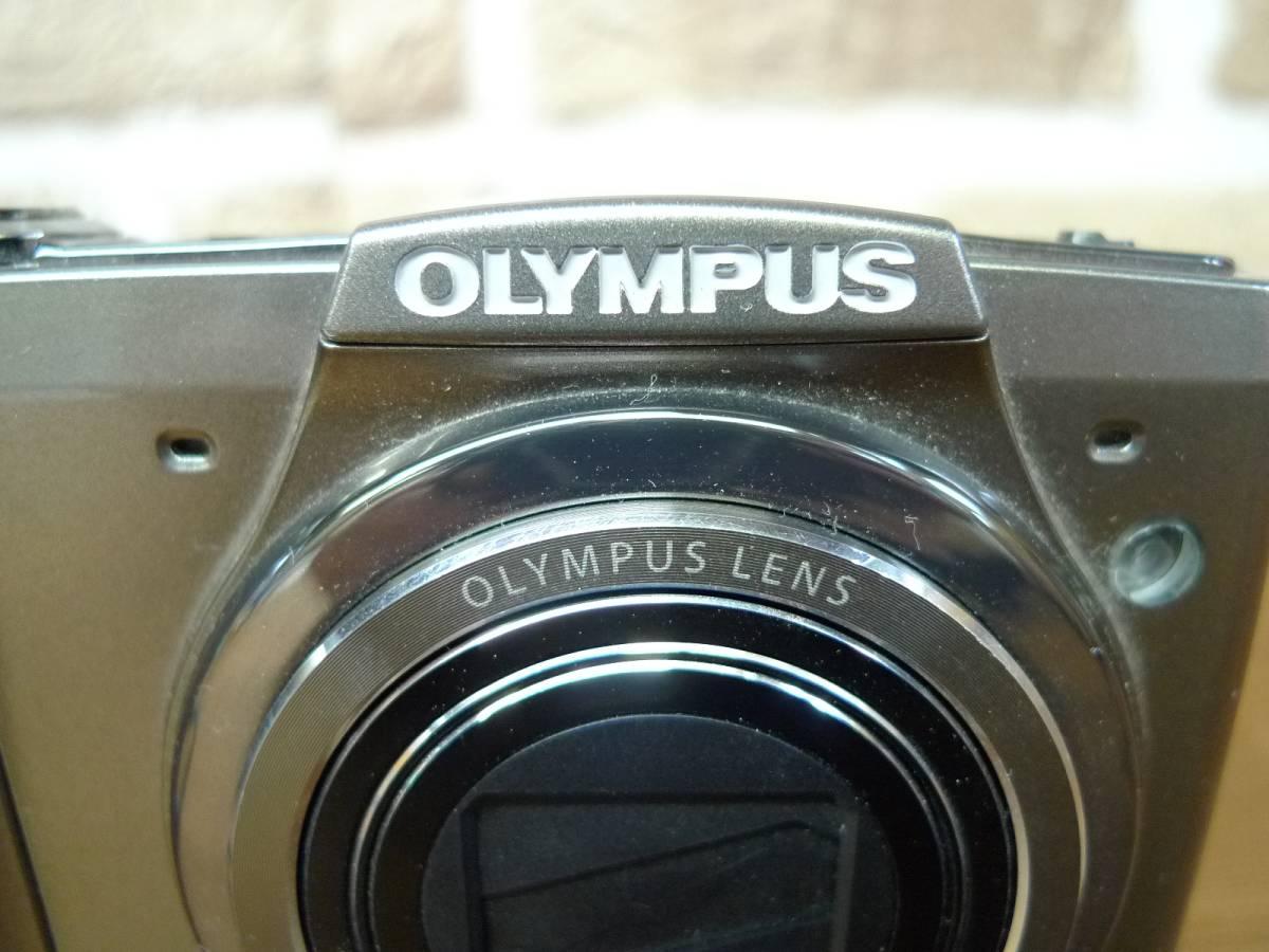 【黒檀堂】OLYMPUSオリンパスデジタルカメラSZ-20 ACアダプター付_画像5