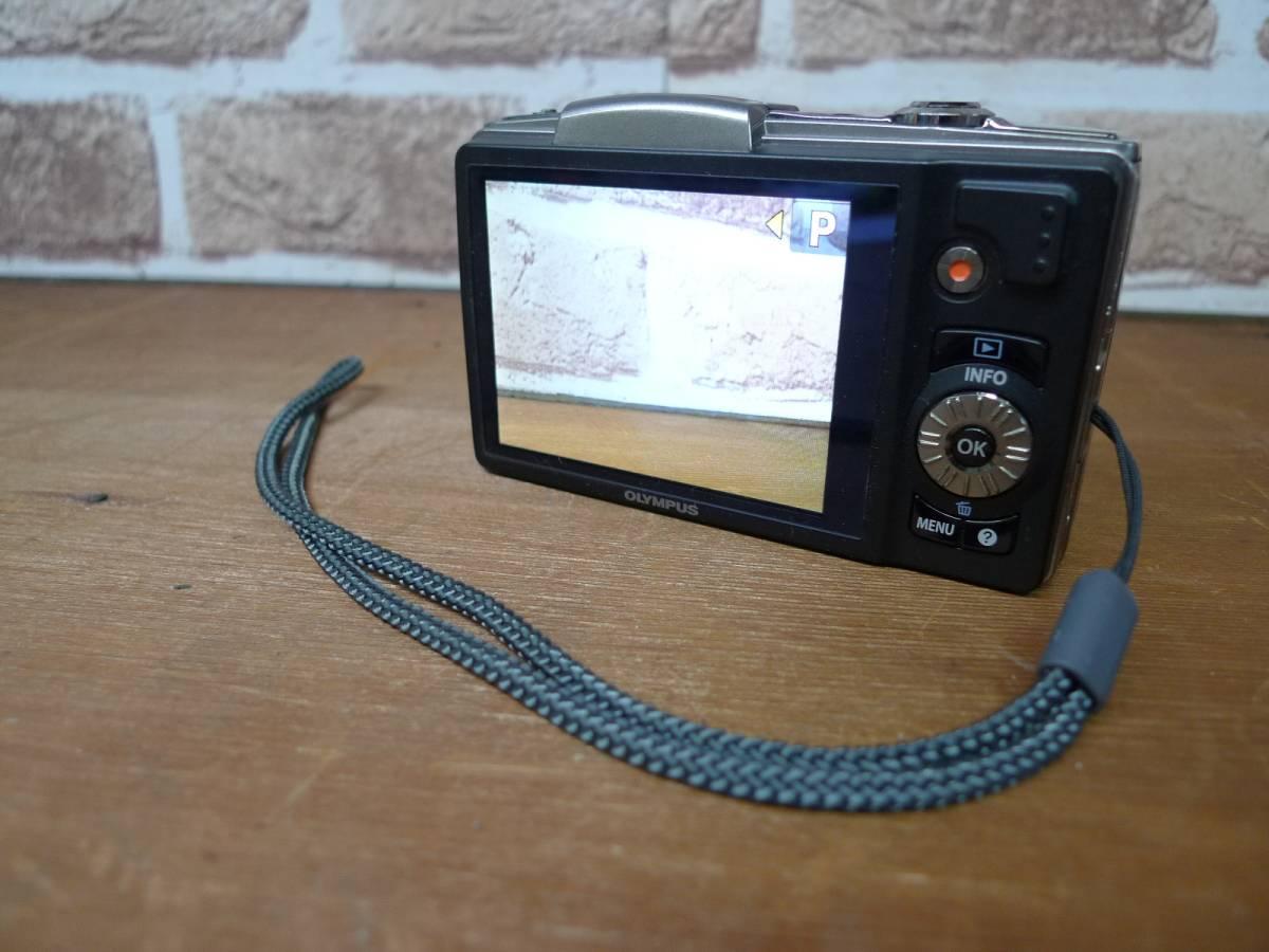 【黒檀堂】OLYMPUSオリンパスデジタルカメラSZ-20 ACアダプター付_画像3