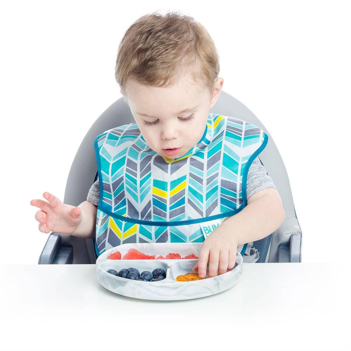 初めてのお食事セット!4点キッズセット 離乳食づくりを楽しく、便利に バンキンス Bumkins シリコン食器 われない こぼれない_画像2