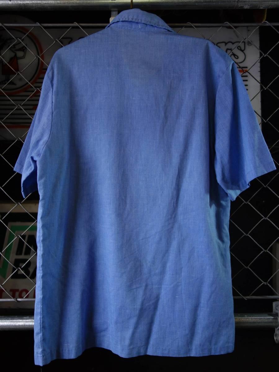 70s-80s BIGSUR ビンテージ プルオーバー サーフシャツ オールドサーフ_画像4