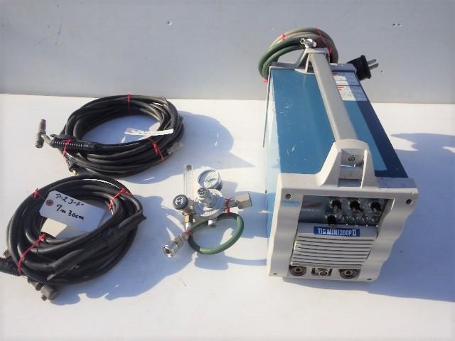 ダイヘン■インバータティグミニ 200PⅡ■インバータ制御式■小形直流パルスTIG溶接機■