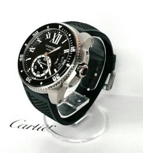 新品 カルティエ Cartier カリブル ドゥ ダイバー 自動巻き 腕時計 バロン パシャ