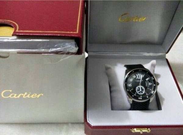 新品 カルティエ Cartier カリブル ドゥ ダイバー 自動巻き 腕時計 バロン パシャ_画像3
