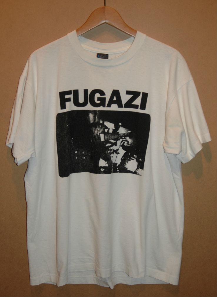 ユーズド 80年代 FUGAZI フガジ Tシャツ