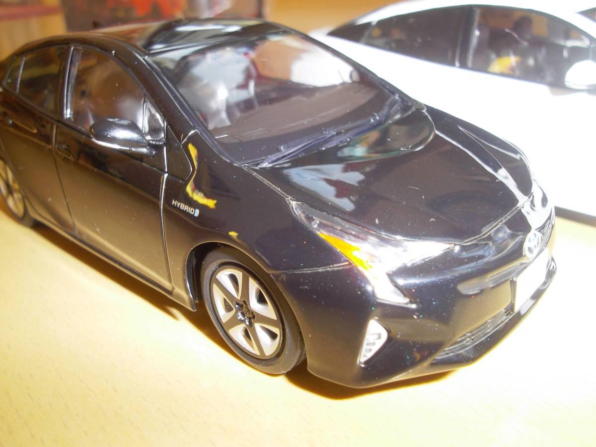 ★トヨタ非売品50系プリウス1/30ミニカー3台黒赤白セット箱なし美品★_画像6