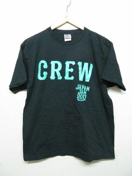 JAPAN JAM 2017 CREW専用Tシャツ 黒 M スタッフ用 非売品 b5389