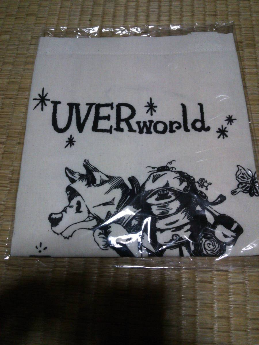 UVERworld IDEAL REALITY TOUR エコバッグ トートバッグ