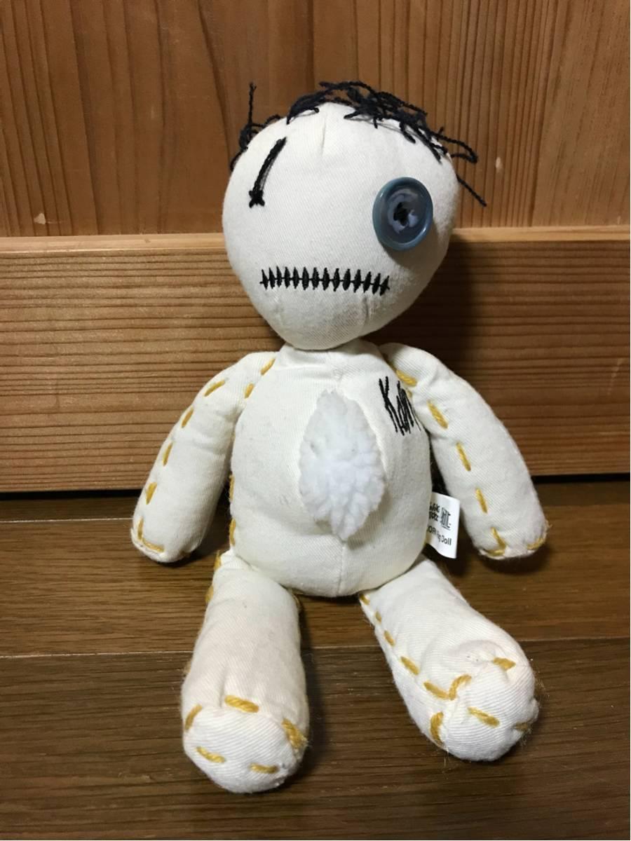 Korn コーン issues ラグドール RAG DOLL ぬいぐるみ フィギュア ▲▲▲音楽 ライブ Tシャツ メタル メタリカ