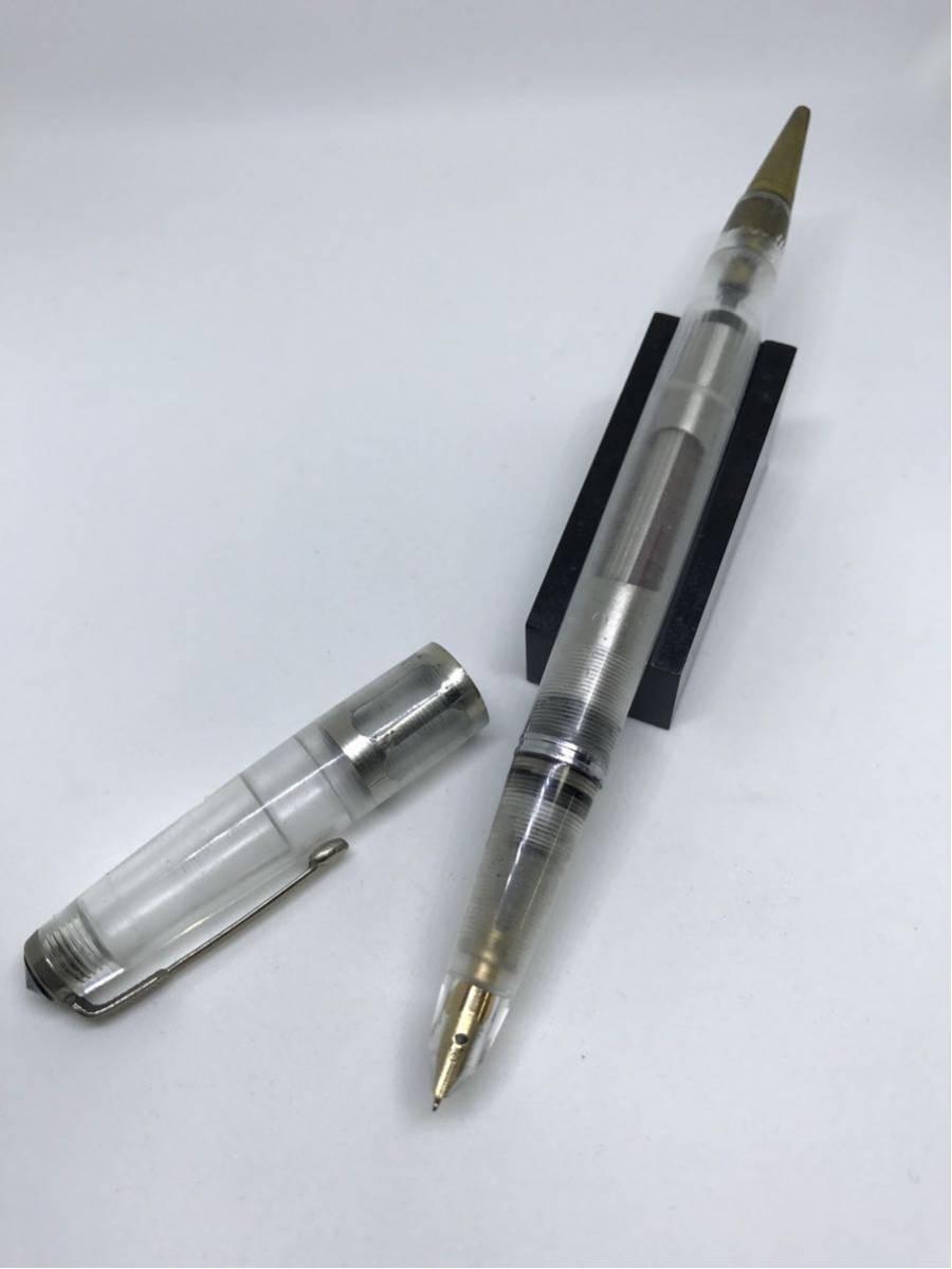 パーカー51デモンストレーター万年筆ペンシル