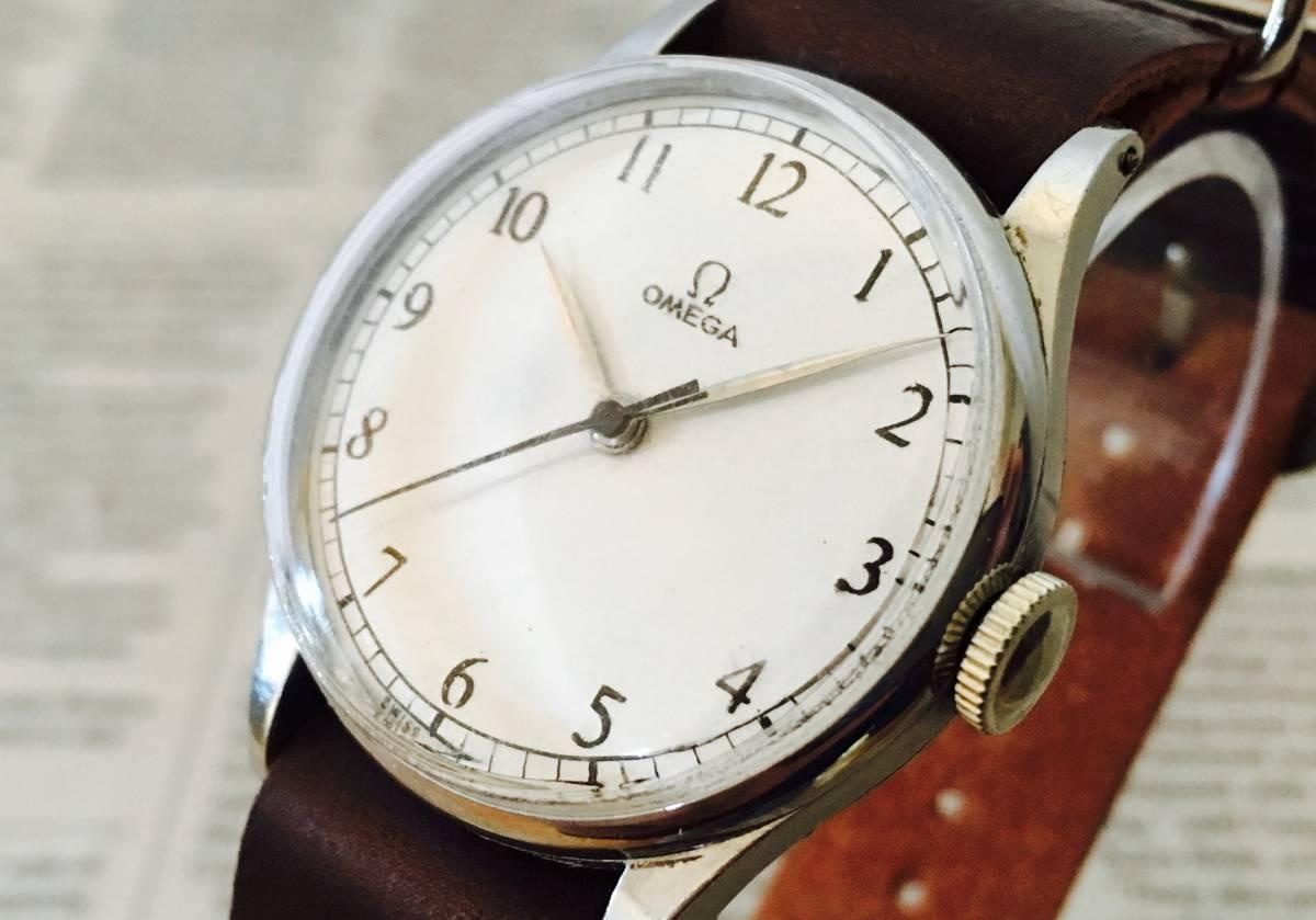 ★オメガ OMEGA 30T2 ミリタリー 16石 ヴィンテージ腕時計 手巻き 1940年