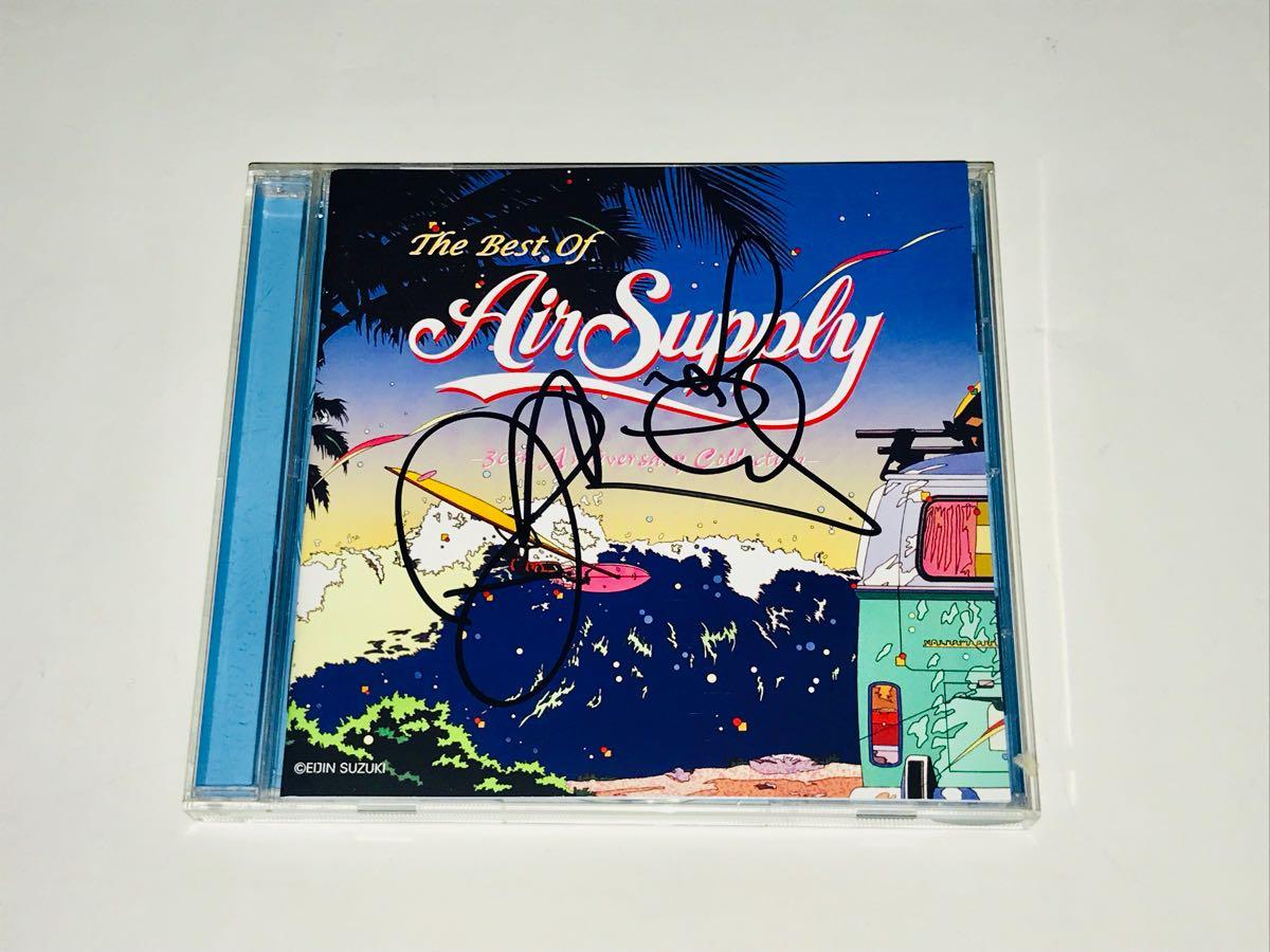 ☆Air Supply/エア・サプライ直筆サイン入りCD+色紙☆