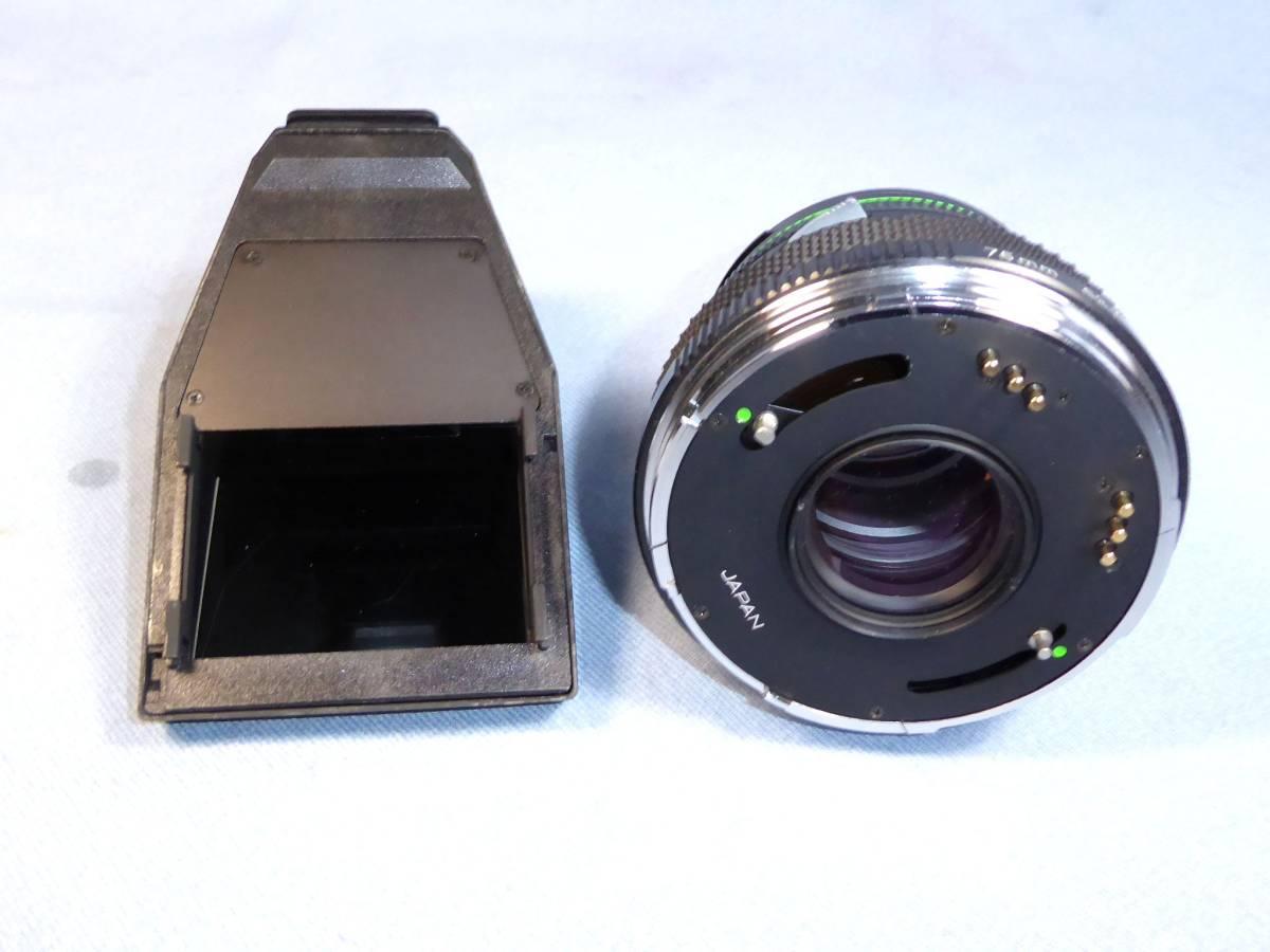 ★  ZENZA BRONICA  ★  ETR - C   +   ZENZANON E Ⅱ   75mm/F2.8   +   ブロニカ プリズムファインダー_画像8