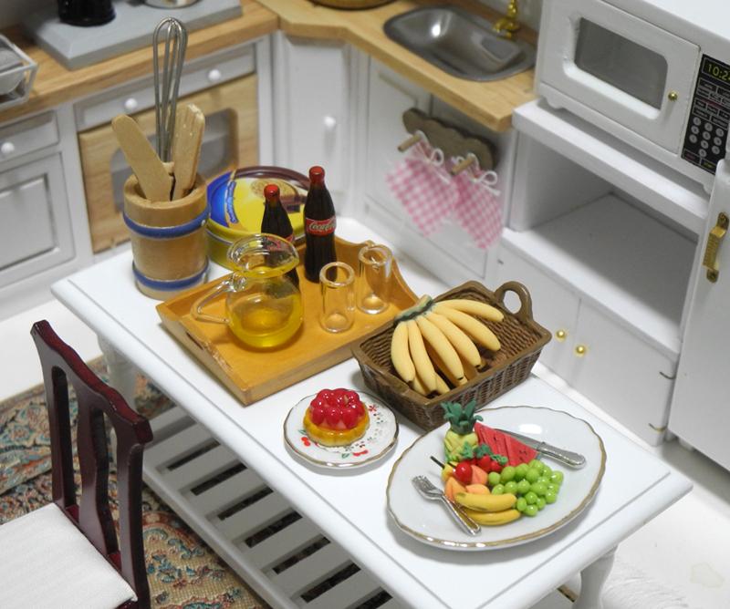 年末年始特価◆ドールハウス◆1/12サイズ◆キッチンセット◆ミニチュア【※ドールは含みません】_画像5