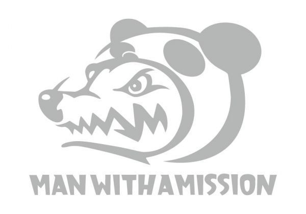 ステッカー man with a mission.03