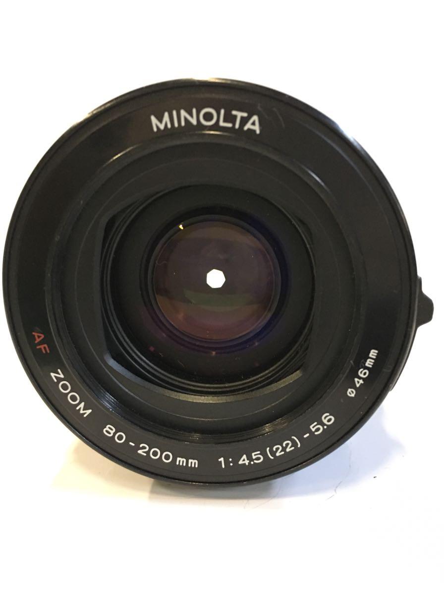 1228P☆ MINOLTA AF ZOOM 80-200mm 1:4.5(22)-5.6 φ46mm ♪配送方法=ヤフネコ宅急便サイズ60cm♪_画像2