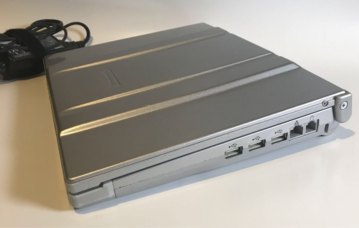 【ジャンク品】Panasonic Let'sNote CF-T7レッツノート HDD無し【通電確認済】_画像3