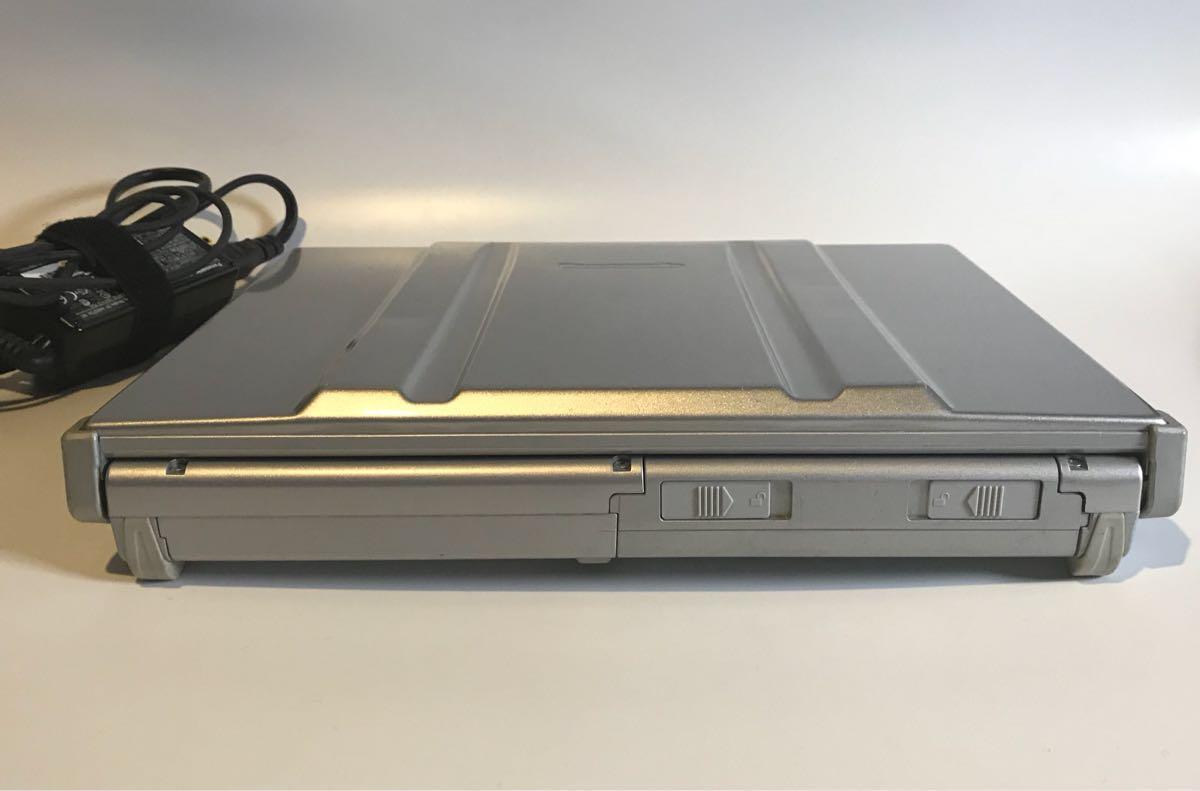【ジャンク品】Panasonic Let'sNote CF-T7レッツノート HDD無し【通電確認済】_画像5